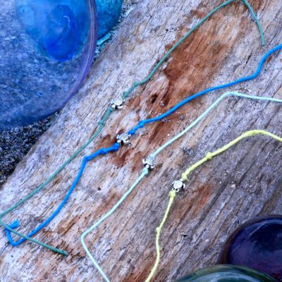 Tie on Turtle Bracelets
