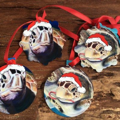 Sea Turtle Holiday Ornaments
