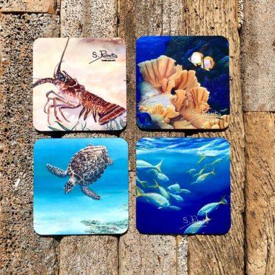 Sea Life Coaster Set