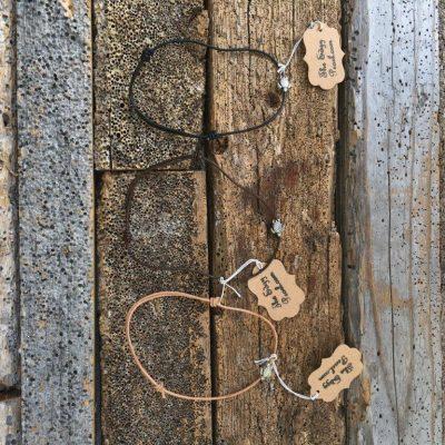 Simple Leather Sea Turtle Bracelet